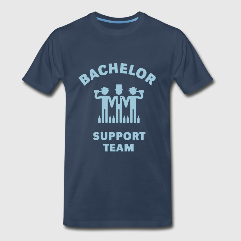 Bachelor Support Team (Stag Party) T-Shirts - Men's Premium T-Shirt