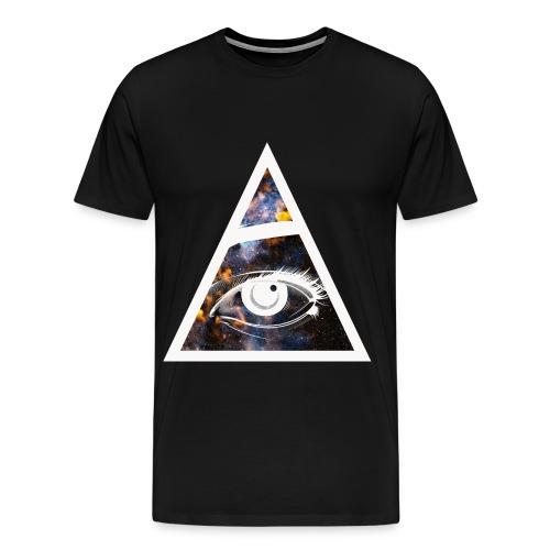 Galaxy Eye Tee - Men's Premium T-Shirt