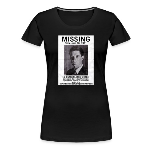 MISSING COOPER LADIES PREMIUM - Women's Premium T-Shirt