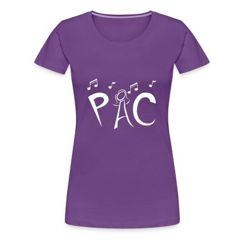 Plus Size Tee - White Logo - Women's Premium T-Shirt