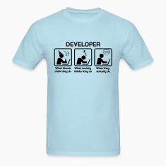 developer - What do you think they do? T-Shirts