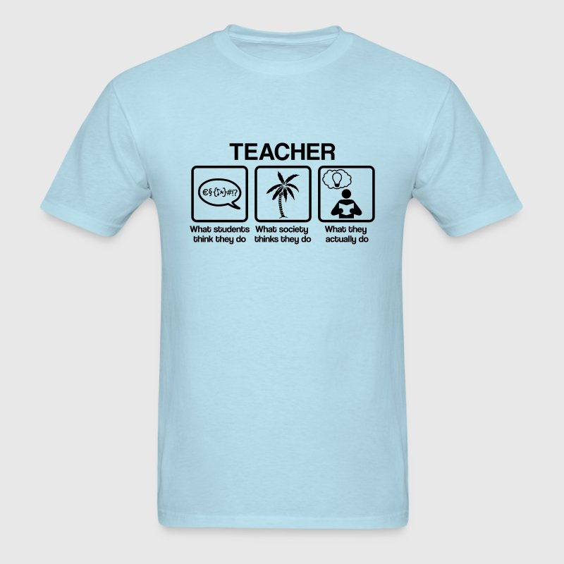 Teacher - What do you think they do? T-Shirts - Men's T-Shirt