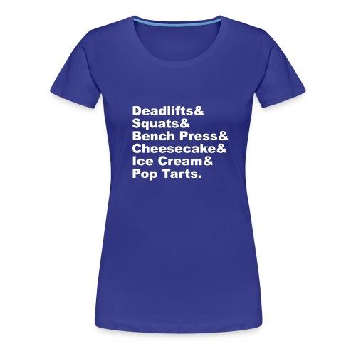 Women's Premium T-Shirt - iifym t-shirts,iifym shirts,iifym clothes,iifym apparel,flexible dieting t-shirts