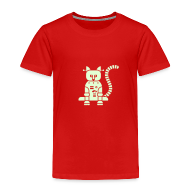 Baby & Toddler Shirts ~ Toddler Premium T-Shirt ~ Glow Catbot - Toddler