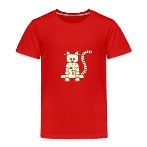 Glow Catbot - Toddler - Toddler Premium T-Shirt