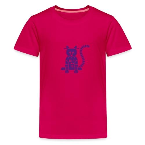 Purple Catbot - Kid - Kids' Premium T-Shirt