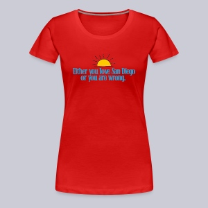 SD or Wrong - Women's Premium T-Shirt