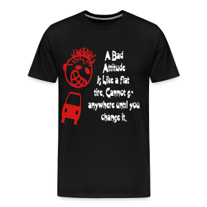 A bad attitude.. - Men's Premium T-Shirt