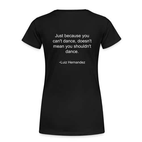 Just because - Women's Premium T-Shirt