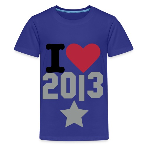 I love 2013 - 66Ricky99 - Kids' Premium T-Shirt