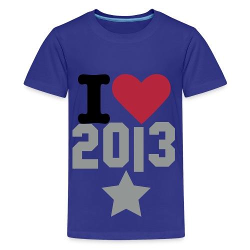 I love 2013 - 66Ricky99 - Kids' Premium T-Shirt