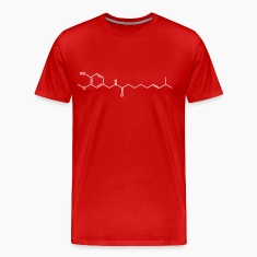 Capsaicin Molecule Chilli Hot T-Shirts