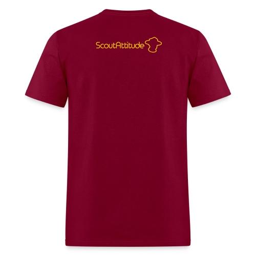 T-Shirt SCOUT homme de qualité personnalisé avec nom et patrouille - Men's T-Shirt