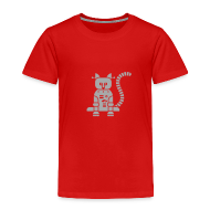 Baby & Toddler Shirts ~ Toddler Premium T-Shirt ~ Sparkle Catbot - Toddler