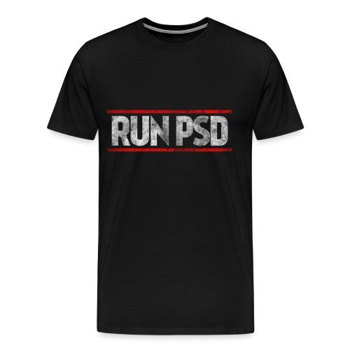 RUN PSD T-Shirt - Men's Premium T-Shirt