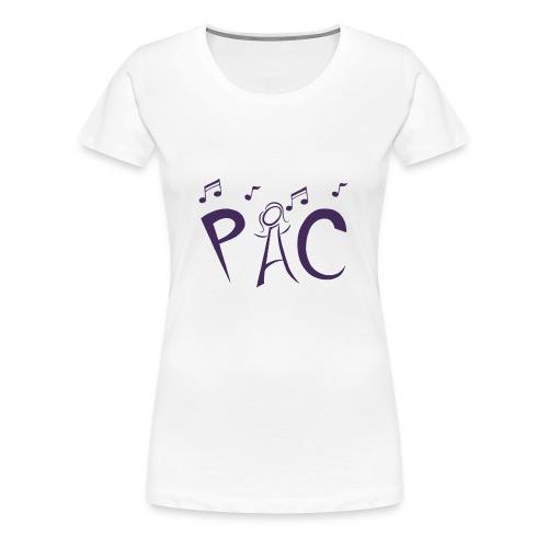 Plus Size Tee - Purple Logo - Women's Premium T-Shirt