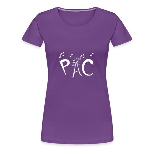 Classic Tee - White Logo - Women's Premium T-Shirt