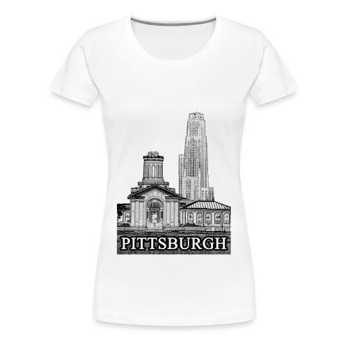 Pittsburgh T-shirt - Women's Premium T-Shirt