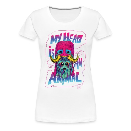 Women's Dirty Paws - Women's Premium T-Shirt