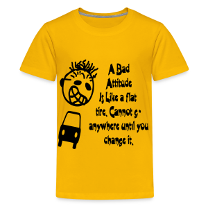 A bad attitude.. - Kids' Premium T-Shirt