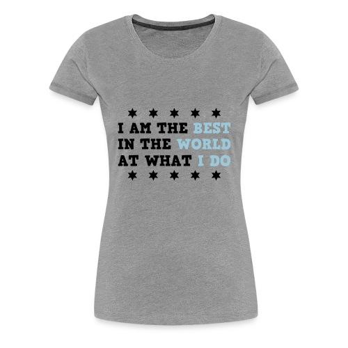 Chris Jericho - Women's Premium T-Shirt