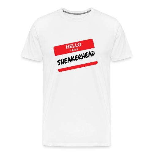 Hello I Am A Sneakerhead - Men's Premium T-Shirt