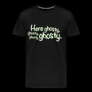 T-Shirts ~ Men's Premium T-Shirt ~ HereGhosty-BigTee