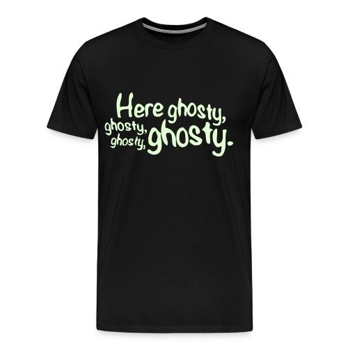 HereGhosty-BigTee - Men's Premium T-Shirt