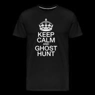 T-Shirts ~ Men's Premium T-Shirt ~ KeepCalmGhostHunt-BigTee