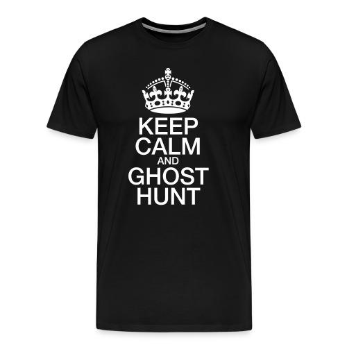 KeepCalmGhostHunt-BigTee - Men's Premium T-Shirt