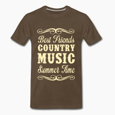 Best Friends, Country Music, Summer T-Shirts