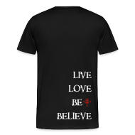 T-Shirts ~ Men's Premium T-Shirt ~ Mens 3X/4X Deluxe Logo Tee