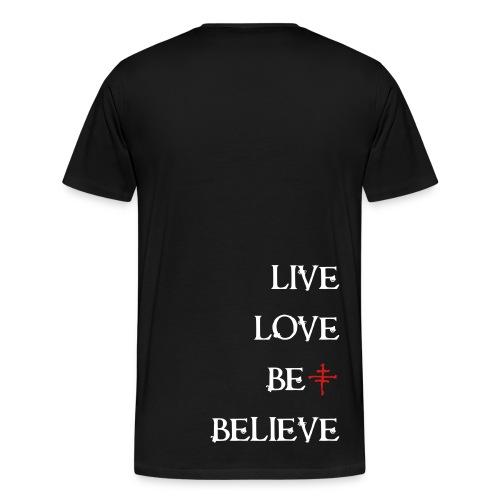 Mens 3X/4X Deluxe Logo Tee - Men's Premium T-Shirt