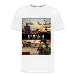somalia hvy - Men's Premium T-Shirt