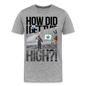 High Astronaut  - Men's Premium T-Shirt