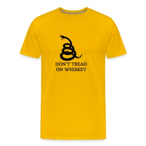Don't Tread on Whiskey T-Shirt - Men's Premium T-Shirt