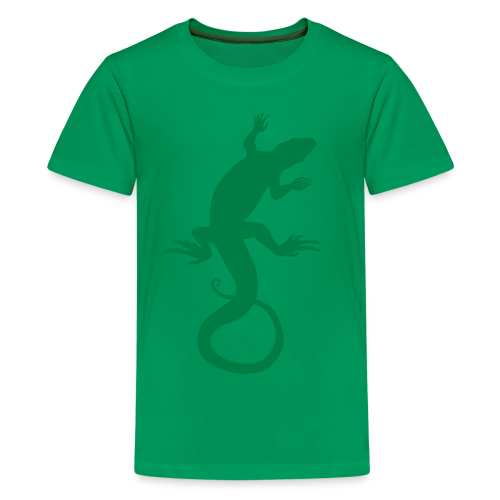 Kid's Lizard Shirt Retro Reptile Art T-shirts - Kids' Premium T-Shirt