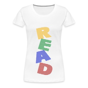 Chevron READ Plus Size - Women's Premium T-Shirt
