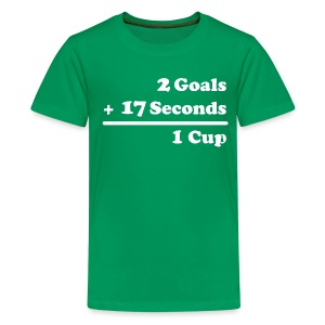 2 Goals - Kids' Premium T-Shirt