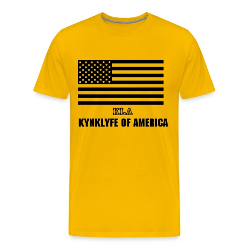 KYNKLYFE of AMERICA - Men's Premium T-Shirt