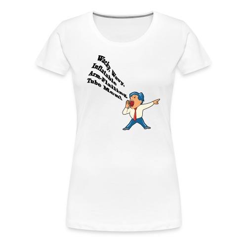 Wacky Wavy Inflatable Men Women's Classic T-Shirt - Women's Premium T-Shirt