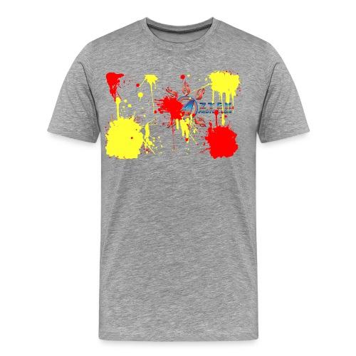 Paint splatter Teeshirt - Men's Premium T-Shirt