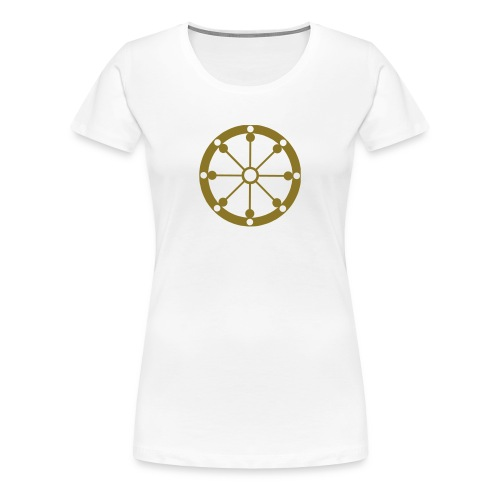 Dharma Wheel - Women's Premium T-Shirt