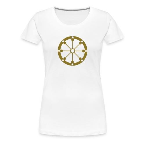 Dharma Wheel - Women's Premium T-Shirt