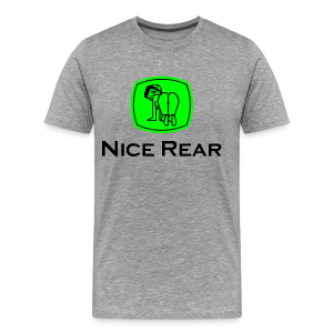 Nice Rear (v2) - Men's Premium T-Shirt