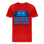 T-Shirts ~ Men's Premium T-Shirt ~ One Of Us Monsters
