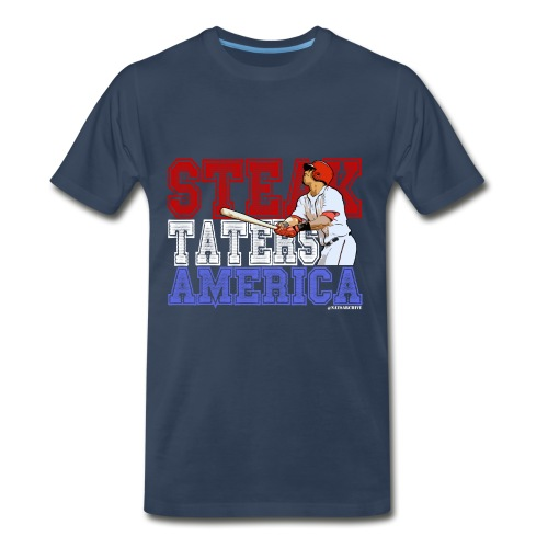 STA - Men's Regular T Jersey Lettering - Men's Premium T-Shirt