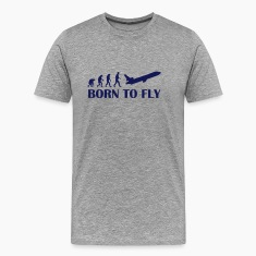 born to fly T-Shirts