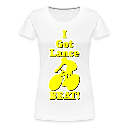 I Got Lance Beat Women's Plus Size - Women's Premium T-Shirt