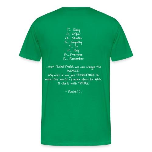 DailyStrength Spring Wish 2013 - Men's Premium T-Shirt